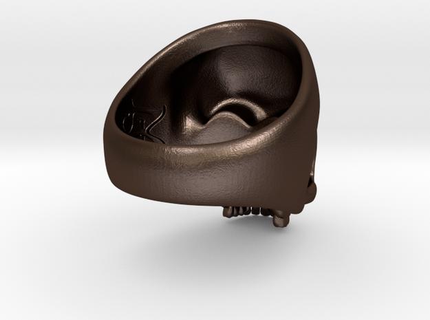 H. sapien: skull 3d printed