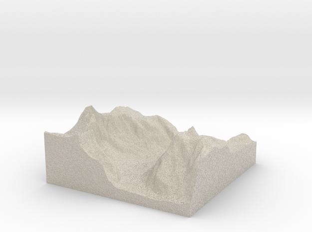 Terrafab generated model Wed Dec 11 2013 19:42:28  3d printed