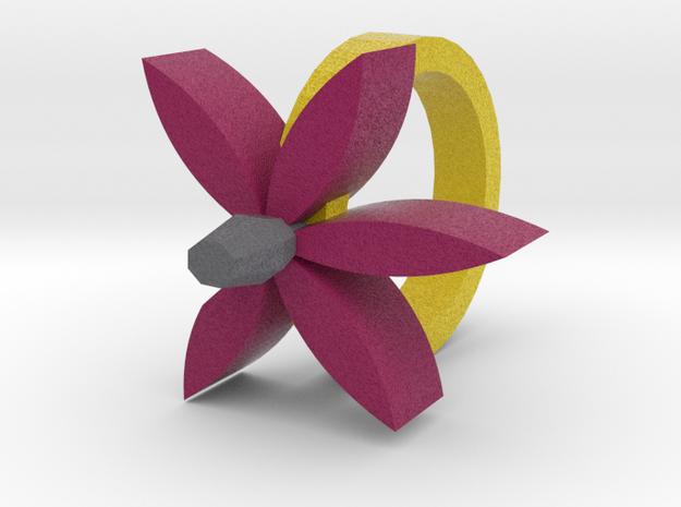 Violet Ring 3d printed