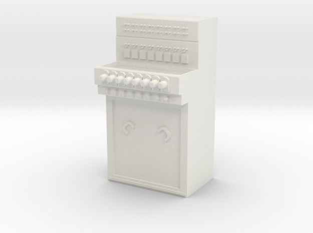 Stellpult E43 Baugröße 1:23,5 in White Natural Versatile Plastic