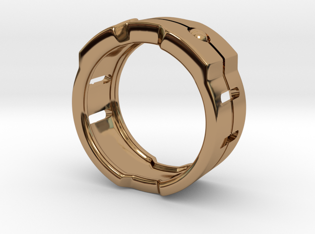 Power icon Ring 3d printed