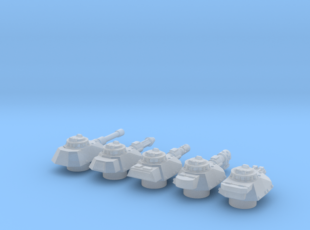 Panzer Mk IVsf turrets 3d printed