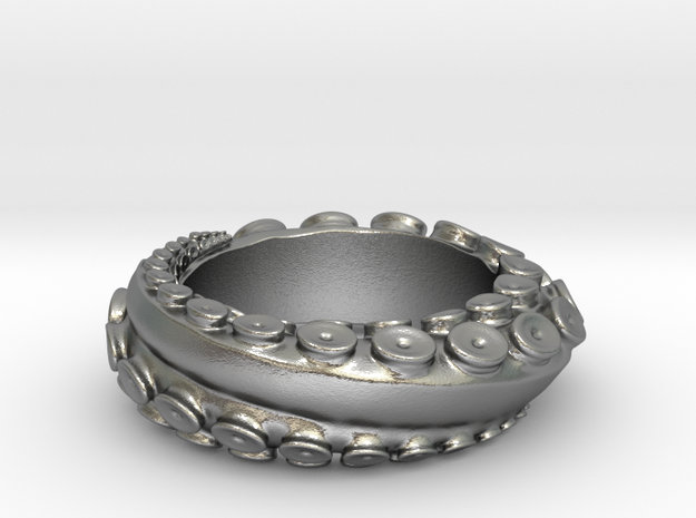 Octopus Ring Size 4 3d printed