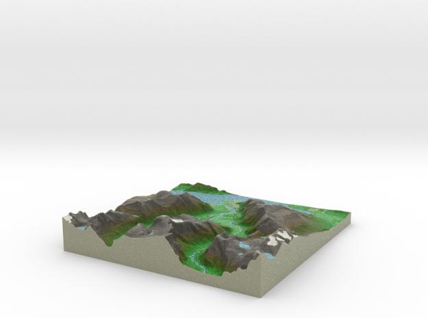 Terrafab generated model Fri Dec 13 2013 21:01:48  in Full Color Sandstone