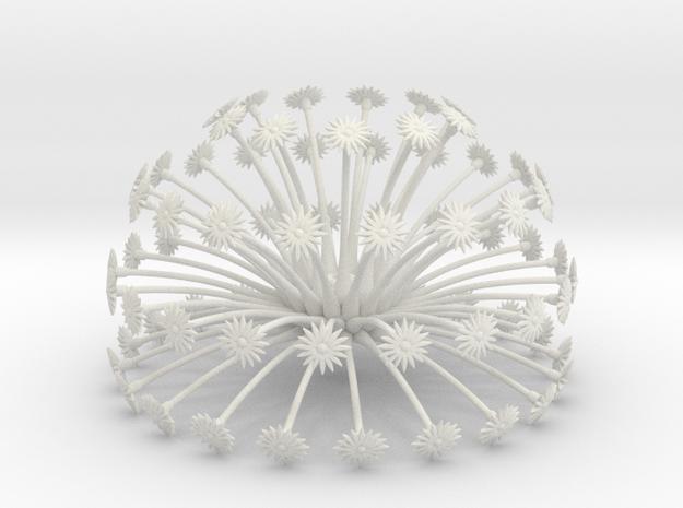 Flowerhead 8 - dense 3d printed