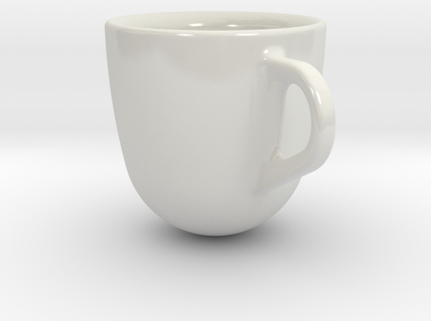 one cup a day | Day 13: Espresso Shot Cup 3d printed