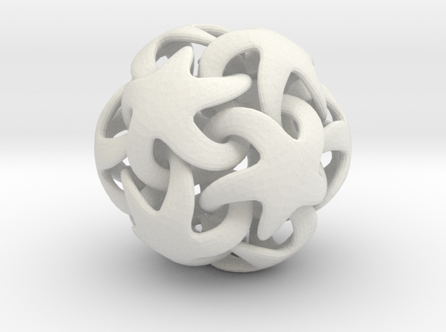 Just another starfish dodecahedron 3d printed
