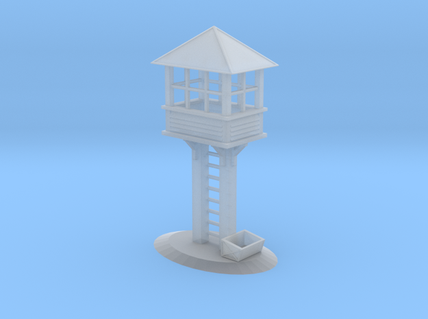 Switch Tower - Z Scale in Smooth Fine Detail Plastic