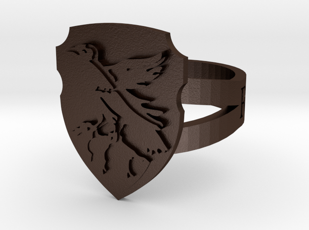 Ravenclaw Ring Size 6 3d printed