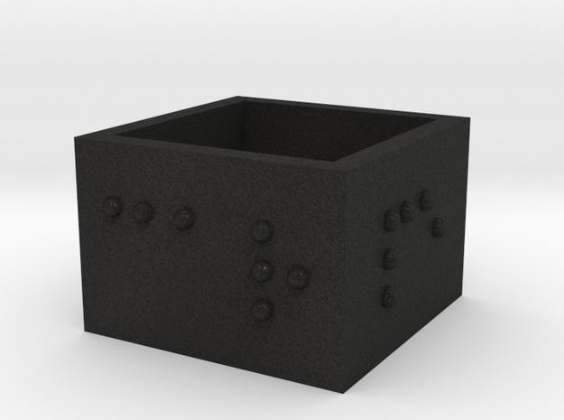 squareRing_CarpeDiem_18mmx15mm 3d printed