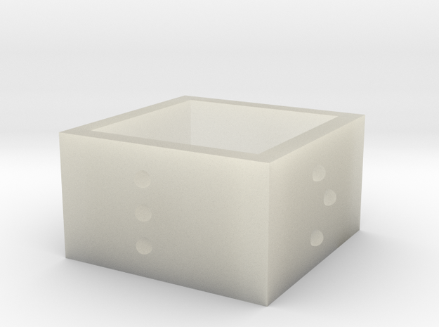squareRing_LOVE_17mmx12mm 3d printed