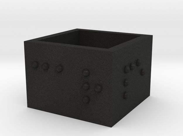 SquareRing_CarpeDiem_17mmx15mm 3d printed