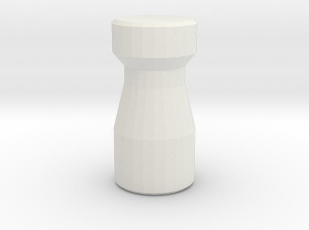 Latte Stone in White Natural Versatile Plastic