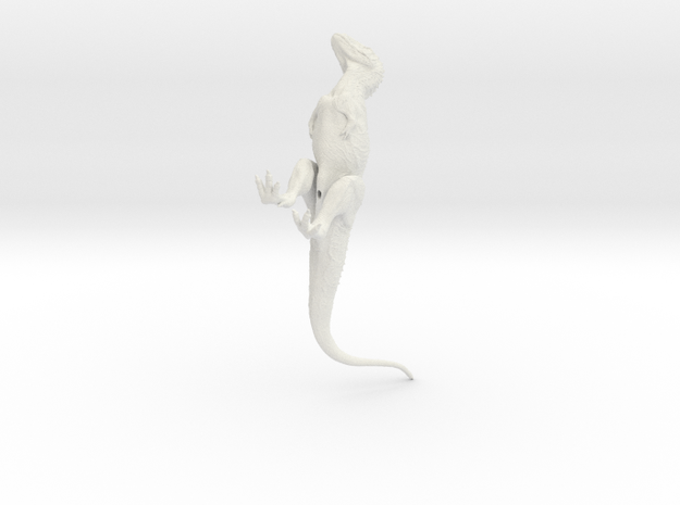 Ekrixinatosaurus 1/72 Krentz  in White Natural Versatile Plastic