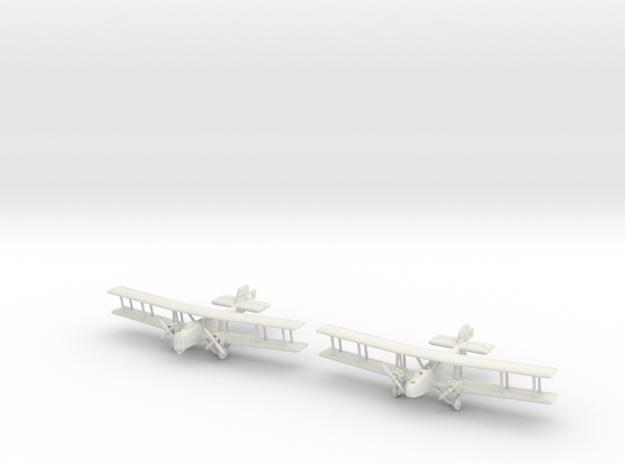 Boulton Paul Sidestrand and Overstrand 1/285 6mm in White Natural Versatile Plastic
