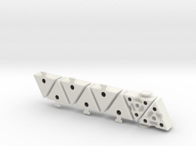Grimace Cube Shapeways in White Natural Versatile Plastic