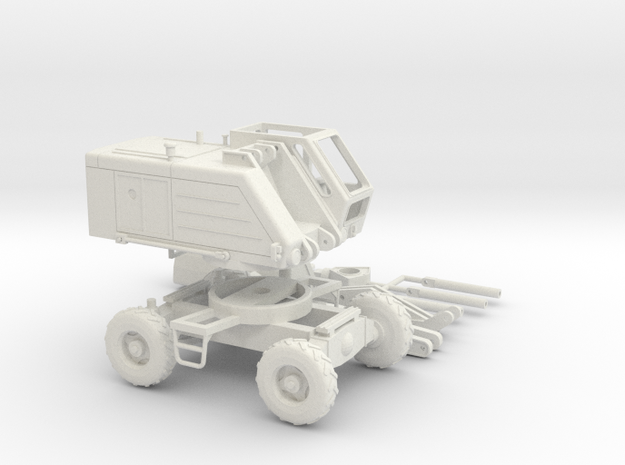 Bagger T 174 Spur 0 (1:45) in White Natural Versatile Plastic