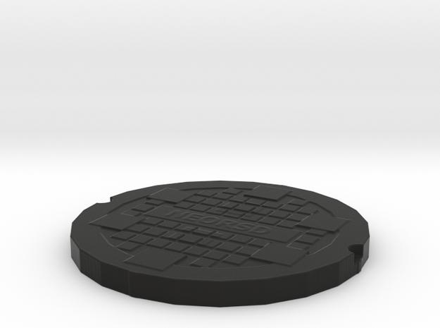 manhole cover 3d printed