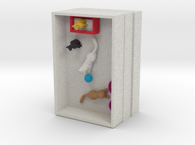 cat shop 3d printed