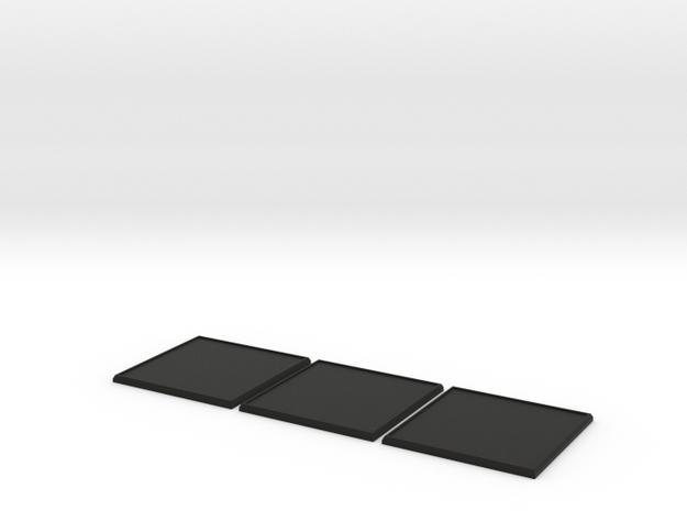 Square Model Base 60mm X3 3d printed