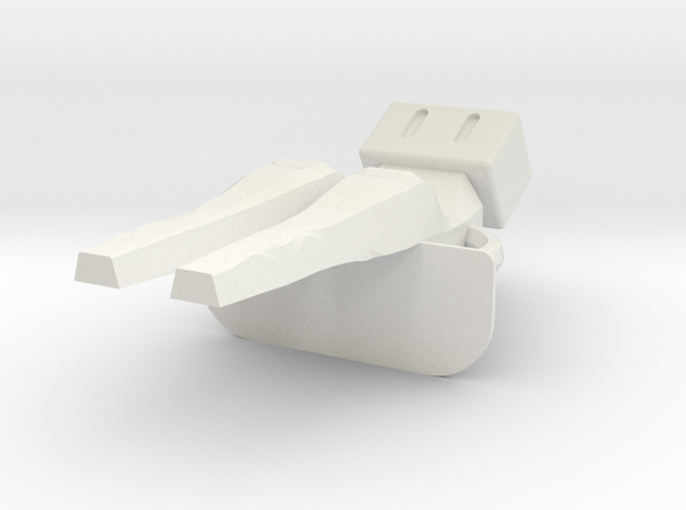 Mini Me! (body) in White Natural Versatile Plastic