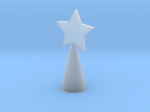 Xmas Tree Star large 3d printed