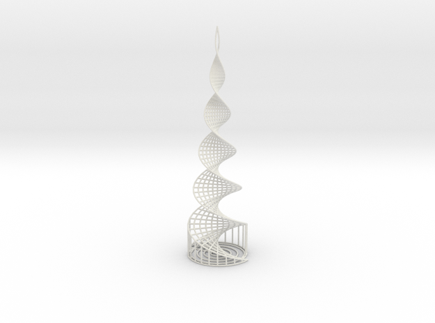 Helix Tower in White Strong & Flexible
