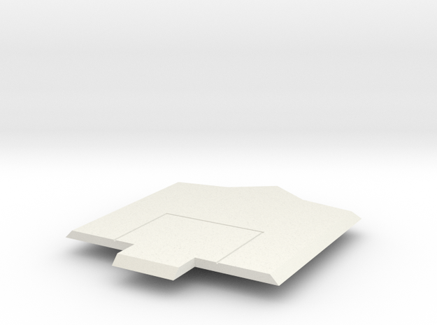 Sunlink - Op Top v. 1B in White Natural Versatile Plastic