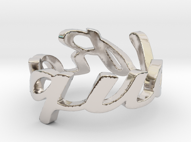 RING RAQUEL Size 6.5 3d printed