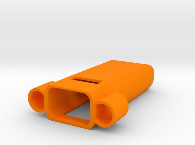 Fitbit Flex Pendant (Y-Wing) in Orange Processed Versatile Plastic