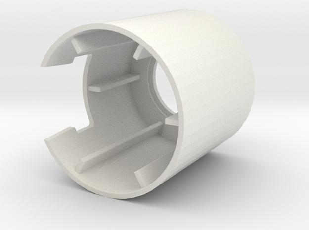 Aprilia Rally contactslot dop in White Natural Versatile Plastic