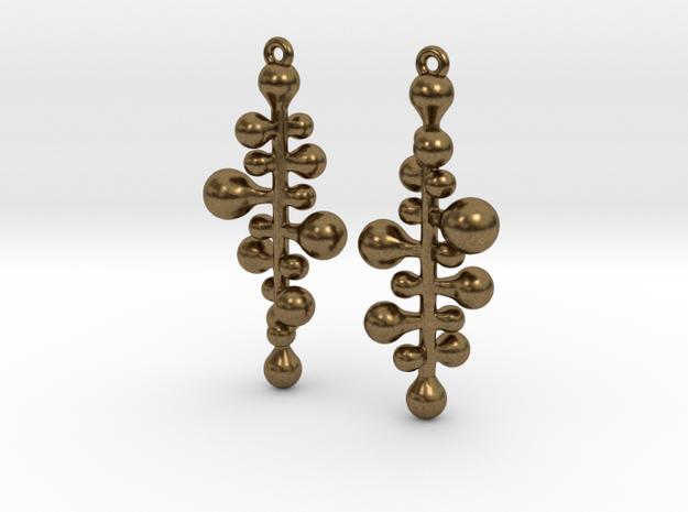 twist pair earing/parts 3d printed