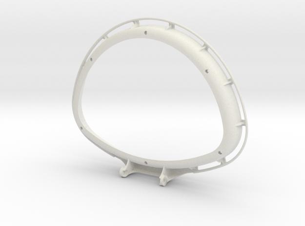 basketfin-topbase 3d printed