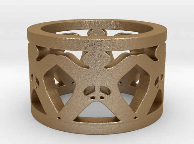 Intactivist Ring Size 6.5 3d printed