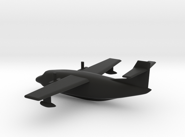Flying Boat (around 1/300 scale) 3d printed