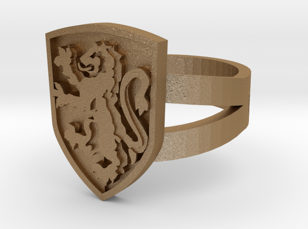 Gryffindor Ring Size 10 3d printed