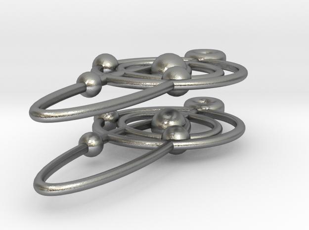 Orbital Earring 3d printed