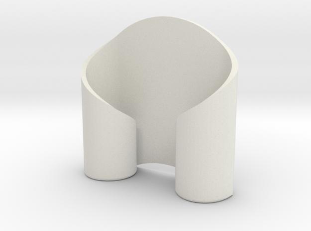 Rolled Candelabra 3d printed