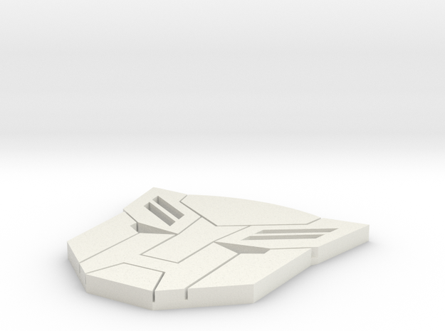 autobot in White Natural Versatile Plastic