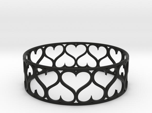 Heart Bracelet 3d printed