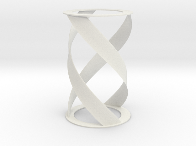 Helical Turbine in White Strong & Flexible