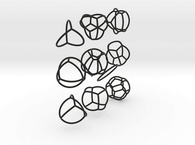 networks on the sphere 3d printed