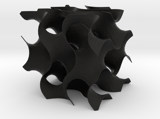 Gyroid med 3d printed