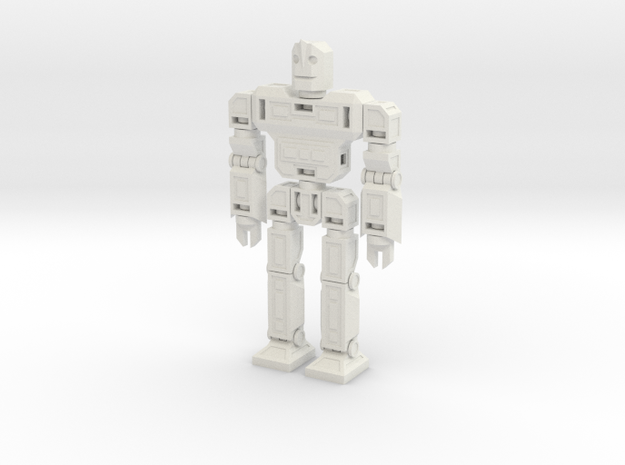 SparkBot in White Natural Versatile Plastic