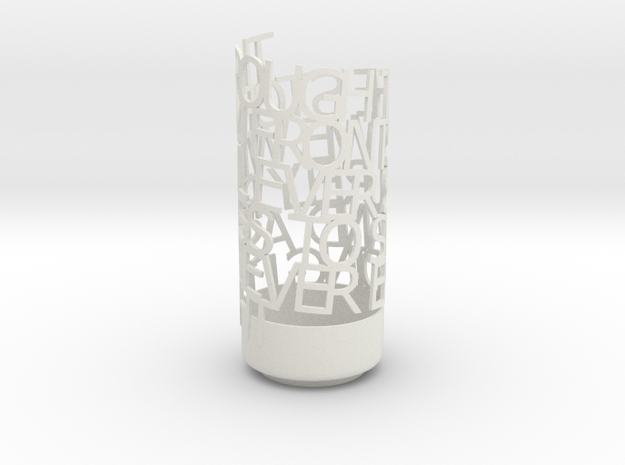 Light Poem - VNV Nation / Perpetual 3d printed
