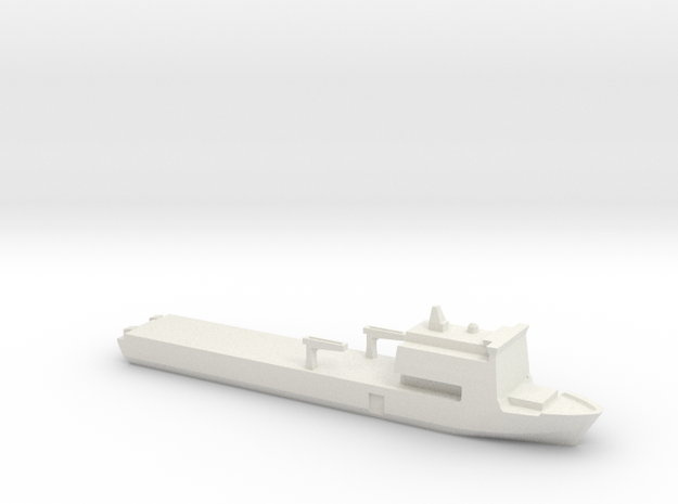 Bay 1:3000 in White Natural Versatile Plastic