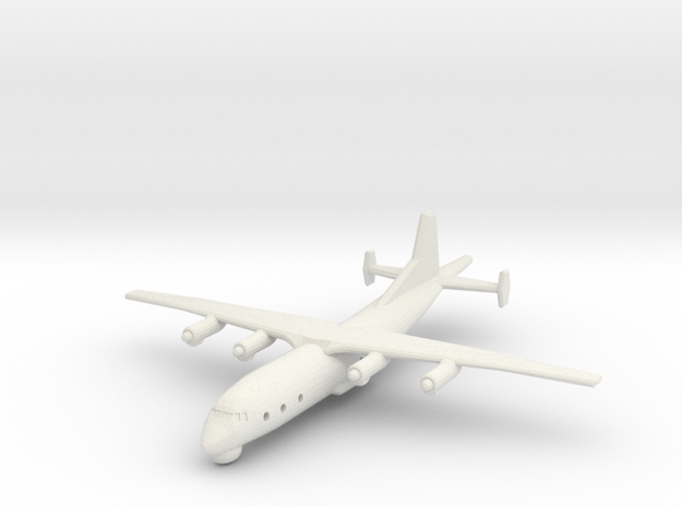 1/300 Shaanxi Y8 600 ASW in White Natural Versatile Plastic