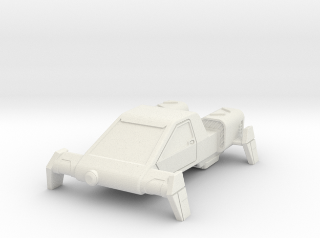 AC04 E2 Security Air Car (28mm) in White Natural Versatile Plastic