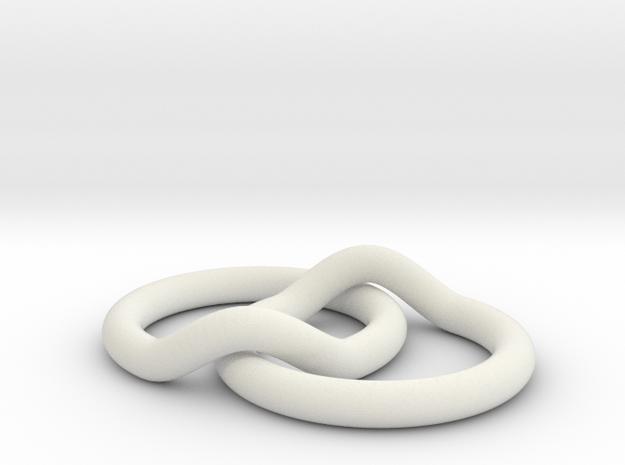 RingRing in White Natural Versatile Plastic
