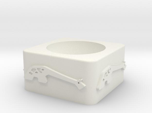 Girraffe ceramic v1 in White Natural Versatile Plastic